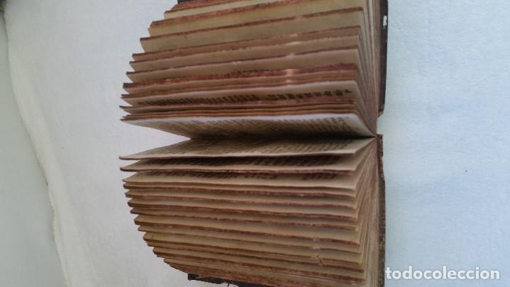 Libros antiguos: BAND BUCH IN GUTEN UND BOFER BAGEN ,BOR GABBATH 1855 EN ALEMÁN,TAPAS DE MADERA - Foto 10 - 169232352