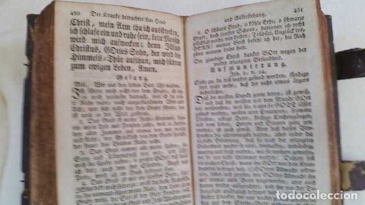 Libros antiguos: BAND BUCH IN GUTEN UND BOFER BAGEN ,BOR GABBATH 1855 EN ALEMÁN,TAPAS DE MADERA - Foto 11 - 169232352