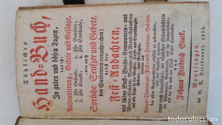 Libros antiguos: BAND BUCH IN GUTEN UND BOFER BAGEN ,BOR GABBATH 1855 EN ALEMÁN,TAPAS DE MADERA - Foto 13 - 169232352