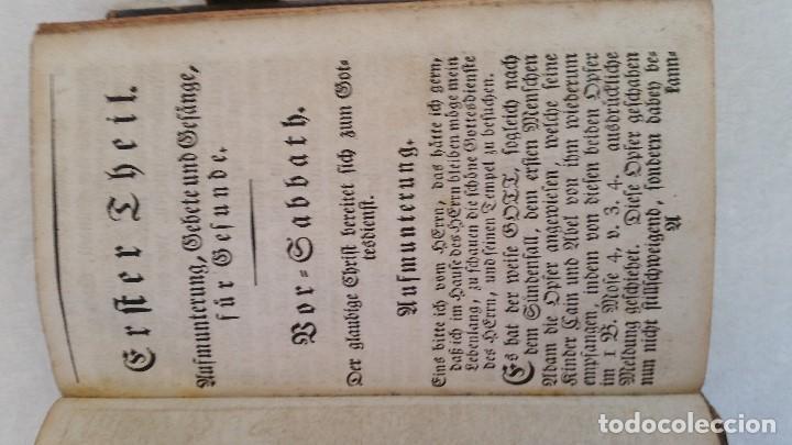 Libros antiguos: BAND BUCH IN GUTEN UND BOFER BAGEN ,BOR GABBATH 1855 EN ALEMÁN,TAPAS DE MADERA - Foto 15 - 169232352