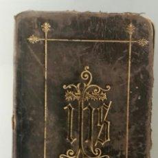 Libros antiguos: LOTE DE 4 LIBROS RELIGIOSOS EN FRANCÉS. DE 1855 A 1909.. Lote 169283004