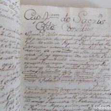 Libros antiguos: LIBRERIA GHOTICA. LIBRO MANUSCRITO DEL SIGLO XVIII SOBRE LOS ÁNGELES. SANTO TOMÁS DE AQUINO.. Lote 169304136