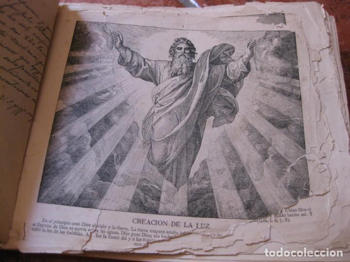 Libros antiguos: album de historia sagrada santa biblia en imagenes . julio schnorr litografias ramon tarrago 1887 - Foto 2 - 169796468