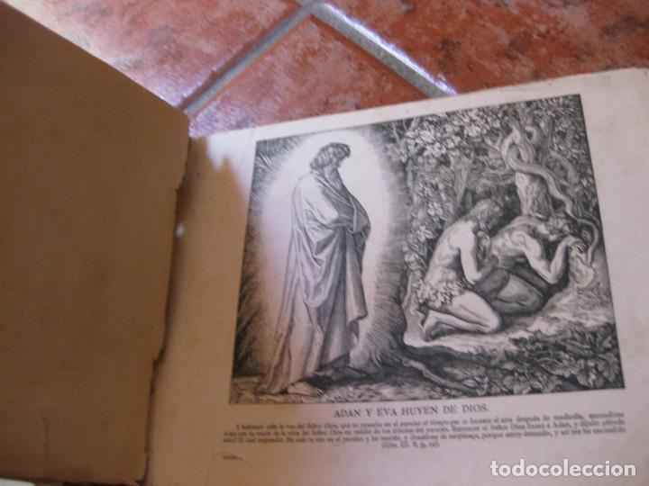 Libros antiguos: album de historia sagrada santa biblia en imagenes . julio schnorr litografias ramon tarrago 1887 - Foto 4 - 169796468