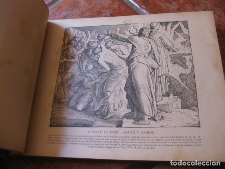 Libros antiguos: album de historia sagrada santa biblia en imagenes . julio schnorr litografias ramon tarrago 1887 - Foto 9 - 169796468