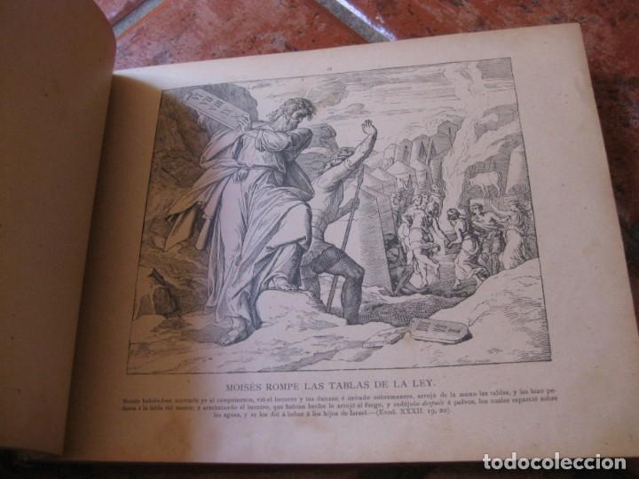 Libros antiguos: album de historia sagrada santa biblia en imagenes . julio schnorr litografias ramon tarrago 1887 - Foto 10 - 169796468