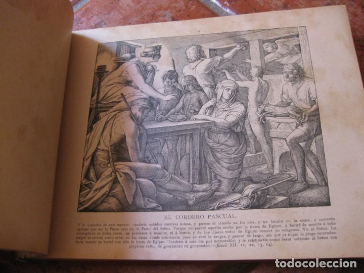 Libros antiguos: album de historia sagrada santa biblia en imagenes . julio schnorr litografias ramon tarrago 1887 - Foto 11 - 169796468