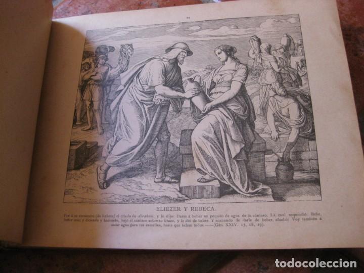 Libros antiguos: album de historia sagrada santa biblia en imagenes . julio schnorr litografias ramon tarrago 1887 - Foto 14 - 169796468
