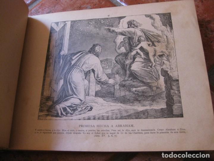 Libros antiguos: album de historia sagrada santa biblia en imagenes . julio schnorr litografias ramon tarrago 1887 - Foto 15 - 169796468