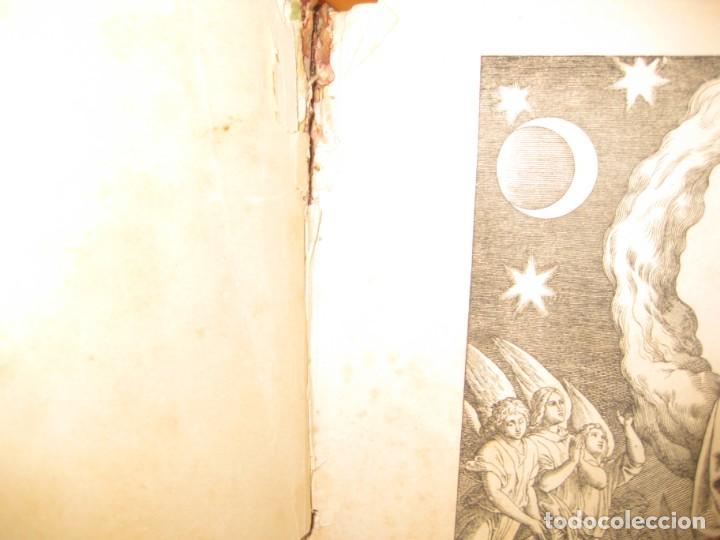 Libros antiguos: album de historia sagrada santa biblia en imagenes . julio schnorr litografias ramon tarrago 1887 - Foto 18 - 169796468