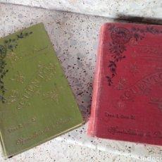 Libros antiguos: TOMO 1 Y TOMO 2 SERIE TERCERA CUENTOS MORALES BIBLIOTECA DEL APOSTOLADO DE LA PRENSA. Lote 170679632