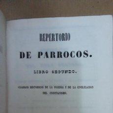 Livres anciens: 23026 - REPERTORIO DE PARROCOS - TOMO II - LIBRO SEGUNDO - AÑO 1850. Lote 170701870