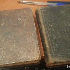 Libros antiguos: DEVOCION AL SAGRADO CORAZON DE JESUS, DE CROISET, 1829 Y DIRECTORIO EUCARISTICO GUIA CRISTIANO, 1867. Lote 170793160