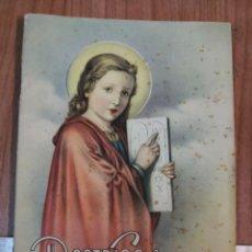 Libros antiguos: DOCTRINA CRISTIANA. SEGUNDA EDICIÓN NÚMERO 3 EDICIONES PAULINAS. AÑO 1952. Lote 171163012