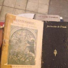 Libros antiguos: IMITACIÓN DE CRISTO POR TOMÁS DE KEMPIS DE ED. SATURNINO CALLEJA EN MADRID 1899 MÁS SEPTENARIO . Lote 171207688