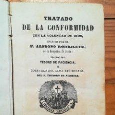 Libros antiguos: TRATADO DE LA CONFORMIDAD 1868. Lote 171276392
