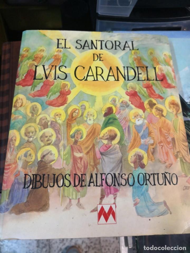 EL SANTORAL DE LVIS LUÍS CAARANDELL. DIBUJOS ORTUÑO. MAEAVA. 1996 407 PAG (Libros Antiguos, Raros y Curiosos - Religión)
