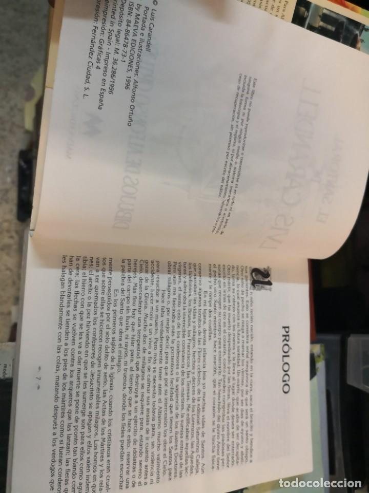Libros antiguos: EL SANTORAL DE LVIS Luís CAARANDELL. DIBUJOS ORTUÑO. MAEAVA. 1996 407 PAG - Foto 5 - 171296632