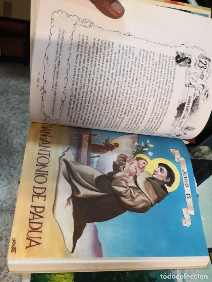 Libros antiguos: EL SANTORAL DE LVIS Luís CAARANDELL. DIBUJOS ORTUÑO. MAEAVA. 1996 407 PAG - Foto 9 - 171296632