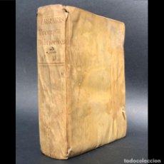 Libros antiguos: 1756 - PROMPTA BIBLIOTECA - PERGAMINO - PECADO - CENSURA - CADÁVER - XÉREZ. Lote 171398185