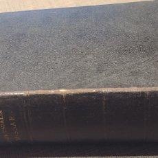 Libros antiguos: LIBER USUALIS MISSAE PRO DOMINICIS ET FESTIS DUPLICIBUS CUM CANTU GREGORIANO 1909. Lote 171464004