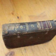 Libros antiguos: EJERCICIOS COTIDIANOS ENCUADERNADO EN PIEL CON 200 AÑOS. Lote 171590057