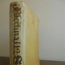 Libros antiguos: BARTOLOMÉ DE MEDINA: EXPOSITIO IN PRIMAM SECUNDAE ANGELICI D. THOMAE AQUITANIS, SALAMANCA, 1582. Lote 171747602