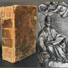 Libros antiguos: 1794 HORAE DIURNAE BREVIARII ROMANI - EXORCISMO - GRABADOS. Lote 171986294