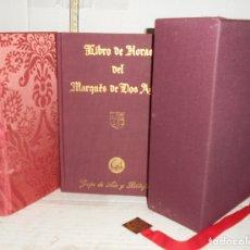 Libros antiguos: LIBRO DE HORAS DEL MARQUÉS DE DOS AGUAS. MANUSCRITO 103 - V 1 - 3 DE LA BIBLIOTECA BARTOLOMÉ MARCH. Lote 172567304