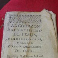 Libros antiguos: LIBRO RELIGIOSO.PRINCIPIOS SIGLO XIX.. Lote 172685553