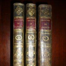 Libros antiguos: SERMONES DE TIEMPO QUE ACOSTUMBRAN A PREDICARSE FRAY LUIS DE GRANADA 1791 MADRID TOMO -7-8-9-. Lote 172798389