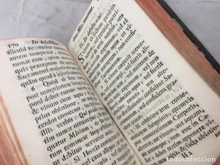 Libros antiguos: Rubricas del Misal Romano 1784 Gregorio Galindo Obispo de Lérida imprenta Josef Doblado Madrid - Foto 5 - 172811034