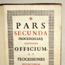 Libros antiguos: CANTORAL FECHADO DEL AÑO 1729. Lote 172811742