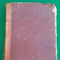 Libros antiguos: AÑO CRISTIANO, P. JUAN CROISSET, TOMO PRIMERO, MADRID. AÑO 1852. Lote 172910320