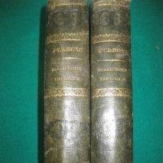 Libros antiguos: J. PERRONE. PRAELECTIONES THEOLOGICAE. 2 TOMOS. MIGNE EDITOREM 1861. Lote 172983227