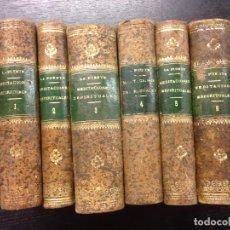 Libri antichi: MEDITACIONES ESPIRITUALES DEL V.P. LUIS DE LA PUENTE, 1890 (6 TOMOS). Lote 173786567