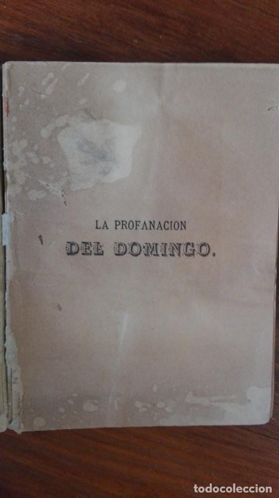 Libros antiguos: LA PROFANACION DEL DOMINGO GAUME, MONSEÑOR jose maria muga y martinez, Madrid (1859) - Foto 4 - 174173248