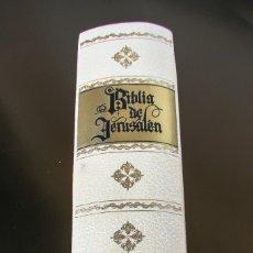 Libros antiguos: BIBLIA DE JERUSALÉN ILUSTRADA. Lote 175109932