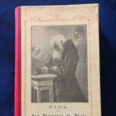 Libros antiguos: VIDA DE SAN FRANCISCO DE PAULA. Lote 175180193