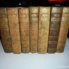 Libros antiguos: HISTORIAL GENERAL DE LA IGLESIA.ABATE BERAULT-BERCASTEL 1852-1856.DEL 1 AL 9 FALTAN EL 1 Y EL 4. Lote 175227429