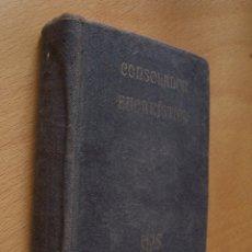 Livres anciens: CONSOLADOR EUCARÍSTICO. COLOQUIOS CON JESÚS SACRAMENTADO. 2ª EDICIÓN, 1916.. Lote 175252412