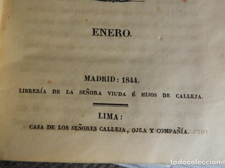 Libros antiguos: LIBROS DEL AÑO CRISTIANO 11 VOLUMENES AÑO 1844 POR JUAN CROISSET - Foto 5 - 175358117