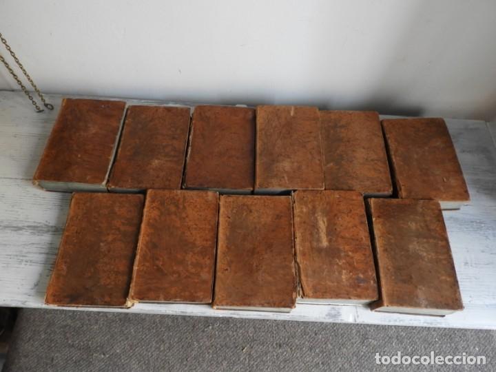 Libros antiguos: LIBROS DEL AÑO CRISTIANO 11 VOLUMENES AÑO 1844 POR JUAN CROISSET - Foto 9 - 175358117