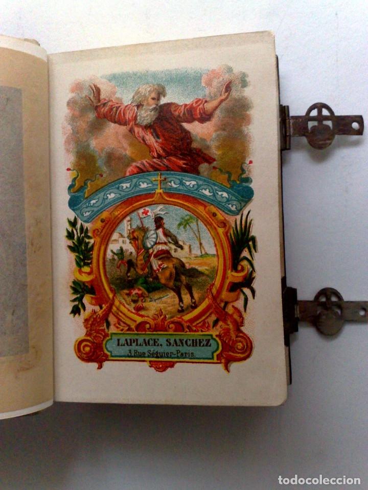 Libros antiguos: ANTIGUO DEVOCIONARIO,MISAL CON CIERRES METÁLICOS,COMPLETO 568 PAGINAS (VER DESCRIPCIÓN) - Foto 7 - 175391898
