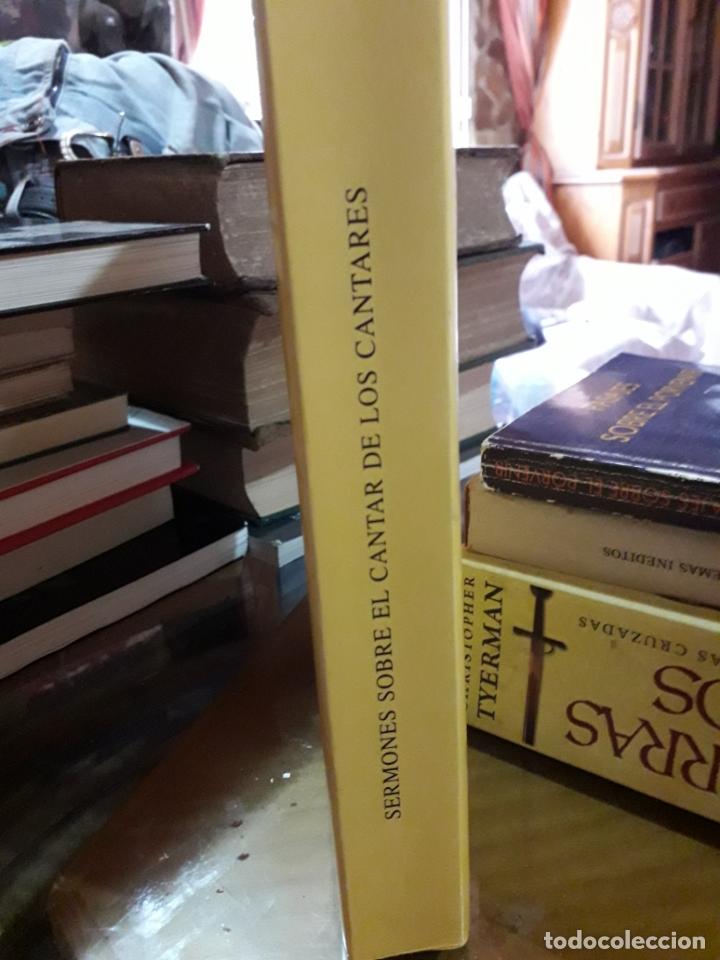 Libros antiguos: SERMONES SOBRE EL CANTAR DE LOS CANTARES - Foto 2 - 175476868