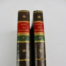 Libros antiguos: L-2522.GENIO DEL CRISTIANISMO BELLEZAS DE LA RELIGION CRISTIANA.AUGUSTO DE CHATEAUBRIAUD. 2 T. 1832.. Lote 175759180
