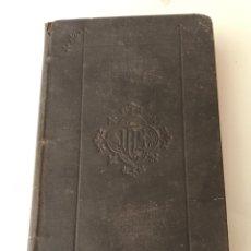 Libros antiguos: ANTIGUO LIBRO DE RELIGIÓN. EN LATIN 1889. Lote 175843594