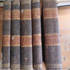 Libros antiguos: DICCIONARIO DE TEOLOGIA. 5 TOMOS ABATE BERGIER PRIMITIVO FUENTES, MADRID (1847) CON APÉNDICE. Lote 175994547