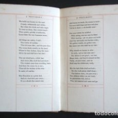 Libros antiguos: AÑO 1908. ECCLESIASTES EL PREDICADOR. TEXTO EN INGLÉS. PORTLAND MAINE THOMAS B MOSHER. ECLESIASTES. . Lote 176087004