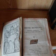 Libros antiguos: LIBROS RELIGIOSOS. Lote 176305190